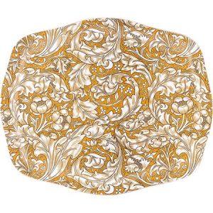 Bachelor´s Button Tarjotin 40 x 30 cm Keltainen