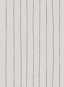 Servetti Natural, Mustat raidat 10x20 cm