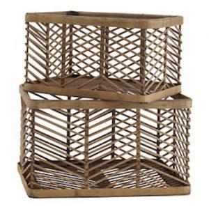 Irit Säilytyskori 2-osaa Bambu