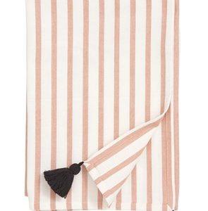 Pöytäliina Stripe - Peach/off white