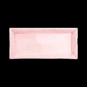 Bubbles Suuri Tarjotin Vaaleanpunainen 23x50 cm